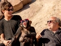 Boy band's new photos include an ape and Danny DeVito.