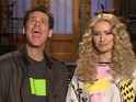 Jim Carrey and Iggy Azalea in SNL