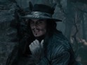 A new video gives a closer look at Johnny Depp as The Wolf in the musical adaptation.