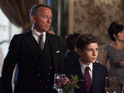 David Mazouz as Bruce Wayne and Sean Pertwee as Alfred in Gotham S01E05: 'Viper'
