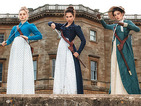 First look at the deadly Bennet sisters in Pride and Prejudice and Zombies