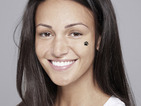 Michelle Keegan and Rochelle Humes go make-up-free for Children in Need