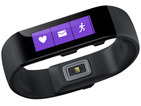 Computing giant's wearable works in conjunction with the Microsoft Health app.