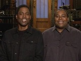 Chris Rock and Kenan Thompson in SNL promo