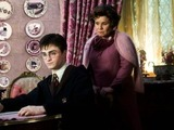 Imelda Staunton and Daniel Radcliffe in Harry Potter and the Order of the Phoenix