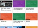 Bookmarks on Chrome move away from dull lists to colourful boxes.