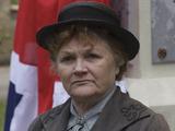 Lesley Nicol as Mrs PAtmore in Downton Abbey S05E08: The season finale