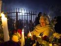 Photographer Antonio Olmos captures the event in Mixquic, Mexico City.