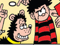 Dennis the Menace's best pal will never get lost as part of a charity campaign.