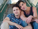 The pair play a former gay activist and his lover in Justin Kelly's film.