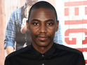 Jerrod Carmichael attends the premiere of 'Neighbors' at Regency Village Theatre
