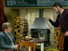 Aaron's behaviour infuriates Ross