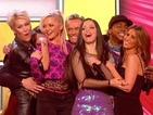Pop group reunite for a medley of hits to raise money for BBC Children in Need.