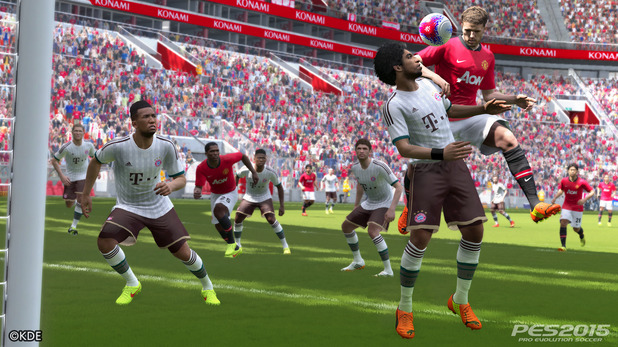 PES 2015 is the new-gen debut for Konami's football franchise