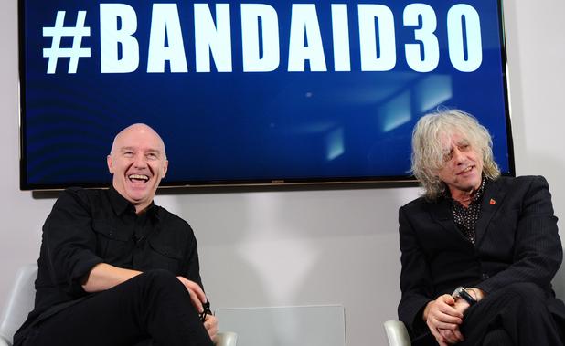 Midge Ure & Bob Geldof discuss Band Aid 30