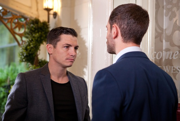 Shane threatens Cameron
