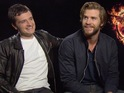 Josh Hutcherson and Liam Hemsworth talk all things Hunger Games.