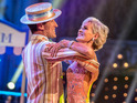 Judy Murray and Anton du Beke are eliminated during special episode in Blackpool.