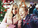 The Post Office campaign features Robert Webb greeting Jim Carter and Pixie Lott.