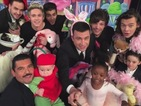 One Direction take 'cutest selfie ever' on Jimmy Kimmel