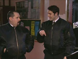 Max and Paddy in Phoenix Nights