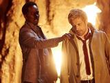 Harold Perrineau & Matt Ryan in Constantine