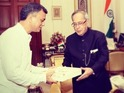 The actor personally invited the president of India to his sister's nuptials.