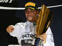 Hamilton beats team-mate Nico Rosberg to the championship title.