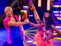 The EastEnders star also scored 38 points for his Samba on the leaderboard.
