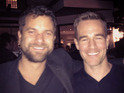 James Van Der Beek and Joshua Jackson bumped into each other at a party over the weekend.