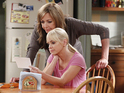 Allison Janney & Anna Faris in Mom