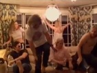 Kate Hudson, Cara Delevingne, Kurt Russell film Thanksgiving dance-off