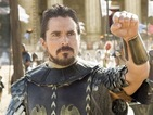 "Christian Bale and Ridley Scott promise they're ""not trying to rewrite the Bible""."