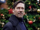 Hamm, Brooker and Rafe Spall talk 'White Christmas' and dark Decembers.