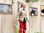Kendra visits Grim Gallery in new I'm a Celebrity Bushtucker Trial