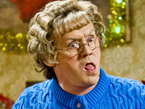 Brendan O'Carroll in the Mrs Brown's Boys Christmas special