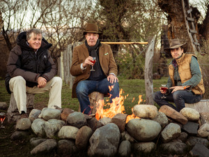 James May, Jeremy Clarkson & Richard Hammond in the Top Gear Christmas special