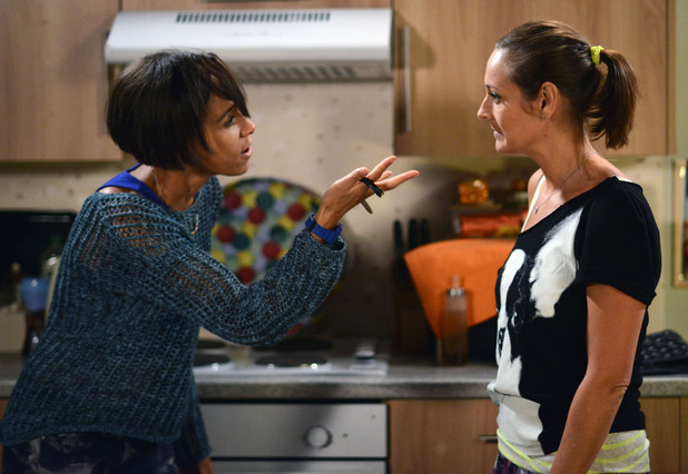 Tosh accuses Tina of sleeping with Sonia