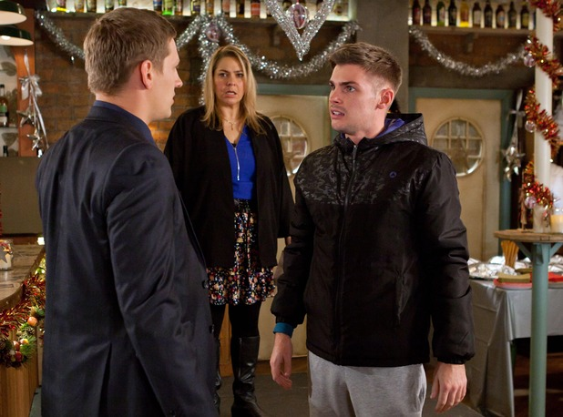 John Paul confronts Ste