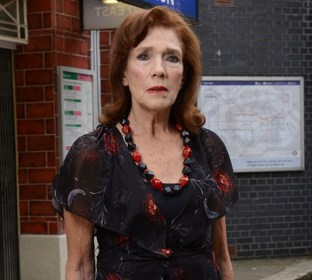 Linda Marlowe as Sylvie Carter in EastEnders