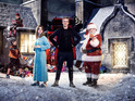 Peter Capaldi, Jenna Coleman and Nick Frost star in the festive special.
