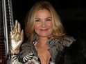 Kim Cattrall at the Collective Honours Awards in Liverpool