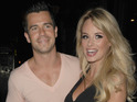 Oliver Mellor popped the question following his performance in Black Coffee.