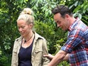 Kendra Wilkinson must only use her head to retrieve stars for camp.