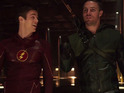 Stephen Amell and Grant Gustin share the small screen for two episodes.