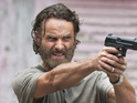 Andrew Lincoln as Rick Grimes in The Walking Dead S05E07: 'Crossed'