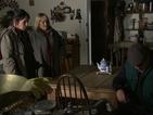 Eileen rebukes Jim for not killing the turkeys.