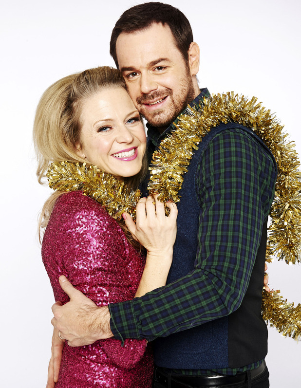 Kellie Bright and Danny Dyer as Linda and Mick Carter in EastEnders