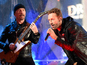 Chris Martin, Bruce Springsteen front U2