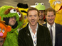 Prince Harry, Damian Lewis and Big Bird unite